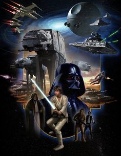 Star Wars: Episode IV - A New Hope Still such a jaw dropping film after 35 years. Star Wars Pictures, Star Wars Images, Nave Star Wars, Star Wars Painting, Darth Vader, Star Wars Tattoo, Episode Iv, Star Wars Wallpaper, Galaxy Wallpaper