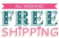 Use code FLABOR for free shipping this Labor day weekend.  Act fast!