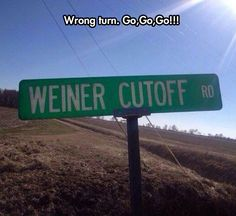 Oh No, Wrong Turn