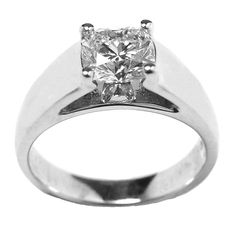 Cathedral Engagement Ring With Wedding Bands 26