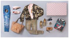 die Trend-Items für Frühjahr/Sommer 2017: Blouson, Jeans mit Stickereien und Blusen in wildem Mustermix #ModeGarhammer #PersonalOutfit #Damenmode #casual #Freizeit