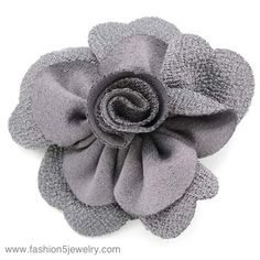 $5 #Paparazzi $5 Jewelry & Accessories #$5 Jewelry #Paparazzi Jewelry www.fashion5jewelry.com #flower hair clip #gray hair clip #hairclip #facebook.com/justfivedollars