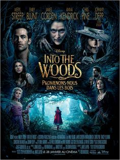 "Comédia, Aventura, Fantasia - ""Into the Woods"" Realizador: Rob Marshall Elenco: Anna Kendrick, Meryl Streep, Chris Pine Film 2015, 2015 Movies, Hd Movies, Disney Movies, Movies To Watch, Movies Online, Movies And Tv Shows, Comedy Movies, Action Movies"
