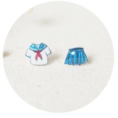 Acrylic School Uniform Earring Set sold by MILKTEAS. Shop more products from MILKTEAS on Storenvy, the home of independent small businesses all over the world.