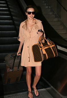 Miranda Kerr - Miranda Kerr's fashionable arrival at LAX