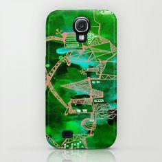 green cat iPhone & iPod Case