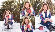 Baby It's Cold Outside! | Allen, Texas Senior Photographer » Pink Fly Photography