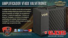 La Púa San Miguel: Amplificador Guitarra Modelado Híbrido VOX VT40X V...