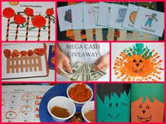 Fall Theme for #Preschool: 50+ Pumpkin Playful Learning Activities {+ $2000 Total Cash #Giveaway} #KBN - The Preschool Toolbox BlogThe Preschool Toolbox Blog