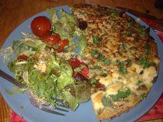 Spinach Omlette #healthyfood  #dinner #obiad