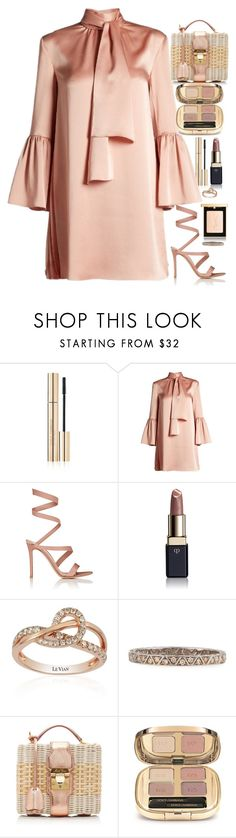 """."" by your-fashion-lover on Polyvore featuring Dolce&Gabbana, Fendi, Gianvito Rossi, Clé de Peau Beauté, LE VIAN, Marco Ta Moko, Mark Cross and Yves Saint Laurent"