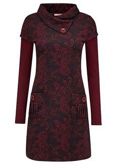 Perfection Tunic by Joe Browns Dress Neck Designs, Collar Designs, Abaya Fashion, Women's Fashion Dresses, Stil Inspiration, African Dress, Formal Wear, Dress Patterns, Mantel