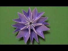 8個同じものを作ってのりづけします。意外と簡単ですよ^^ Designed by traditional 他にもいろいろな折り紙の折り方を紹介しています。 How to fold origami various otherwise is introduced. ・YouTube http://www.youtub...