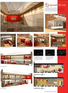 unc greensboro interior architecture presentation boards - Google Search