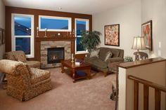 WestViews Builders | Highwood Villas | Calgary | Living Room Mountain View, Calgary, Villas, Bungalow, Living Room, Luxury, Home Decor, Homemade Home Decor, Mansions