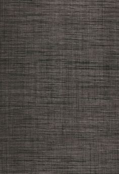 Wallcovering / Wallpaper | Weston Raffia Weave in Charcoal | Schumacher