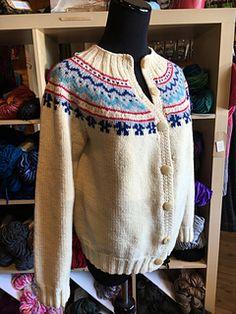 Great Grandma Anna's Norwegian Cardigan by Sydoney Blackmore  Originally made circa 1910 in Norway.