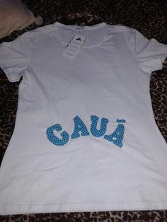 Aplicação em camiseta