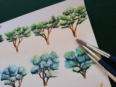 watercolor trees Watercolor Trees, Photos, Life, Pictures