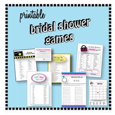 Top 10 Bridal Shower Games and Bachelorette Games