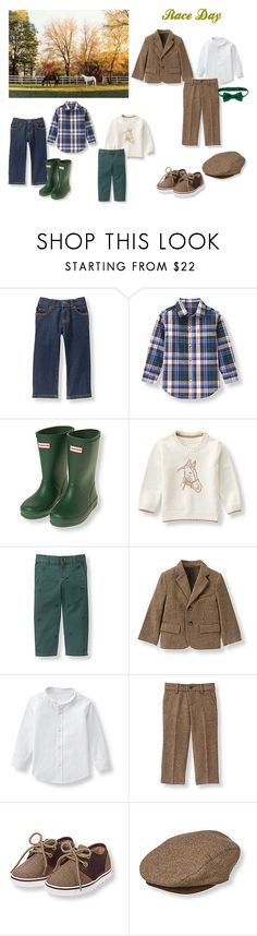 Janie and Jack - Race Day - Boys - Fall 2016 by sassypug-87 on Polyvore featuring boys, horses, Janieandjack and Fall2016