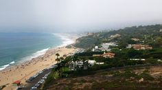 Point Dume State Beach and Zuma Beach from Point Dume