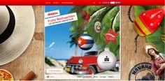 Überraschen Sie Ihre Liebsten mit einer originellen Weihnachts- E-Card aus der Karibik. Jetzt E-Card versenden.