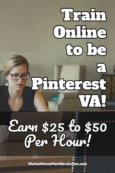 It's here! Become a Pinterest VA Today! is an awesome opportunity to start your own lucrative home-based Pinterest VA business with help from the experts! If you've been searching for a unique home business, one where you can charge $25 to $50 per hour - or more - then this may be the perfect work at home job opportunity for you! Work from home on your own terms. You can make money from home!