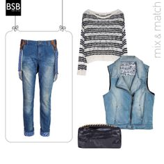 #mix_and_match  #Denim never looked this good before!