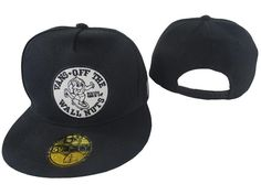 Men s New Era Vans Off The Wall Nuts Logo Patch 9fifty Snapback Hat - Black    White 0ada996b717