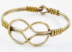 Celtic Knot Bangle Bracelet