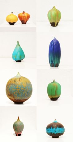 Ceramics by Rose Cabat.