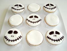 Halloween: Nightmare Before Christmas Cupcakes