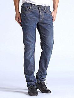 Mens Diesel Jeans 31 x 34 Darron 73N Regular Slim Tapered New ...