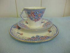 1920s 30s Art Deco Royal Albert Trio Cup Saucer Plate 9165 | eBay