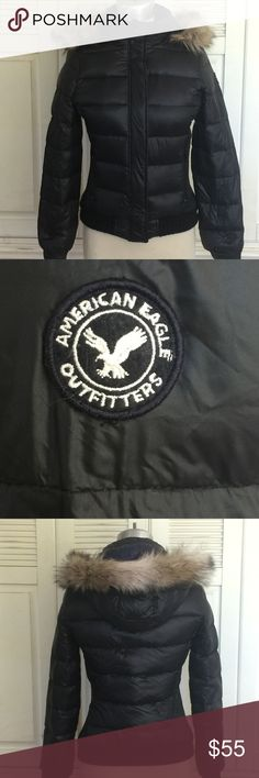 Spotted while shopping on Poshmark: American Eagle Outfitters Black Puffer Jacket M! #poshmark #fashion #shopping #style #American Eagle Outfitters #Jackets & Blazers American Eagle Outfitters Jackets, Puffer Jackets, Fur Trim, Washing Machine, Daughter, Cleaning, Faux Fur, Down Jackets, Washer