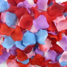 100pcs Artificial Rose Flower Petals Silk Petalos De Rosa De Boda Wedding Party Crafts Festive Decoration Mariage Supplies Decor   	 Wedding Decorations Non Woven Fabric Fashion Artificial Flowers Wedding Rose Petals Petalos De Rosa De Boda 	Description: 	Color:As picture 	Material:Light by spinning cloth, high-grade silk 	Occasion:birthday,wedding,house moving,valentine's day,party 	Quantity:totall 100pcs/lot 	    US $0.89…