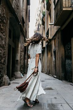 Long_Dress-HM_Leather_Bag-Maje_Sandals-Outfit-Primavera_Sound-Collage_Vintage-Street_Style-34