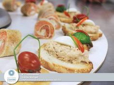 Garde Manger, Clase de 4º Cuatrimestre, con el chef Emmanuel Dupont y platos hechos por los alumnos del ICD