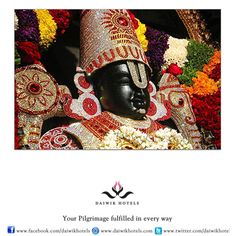The deity of Lord Venkateswara at Tirupati-Tirumala is a form of Lord Vishnu. He is also called Balaji, Srinivasa and Venkatachalapati. It is said that Vishnu appears on earth whenever evil is on the rise and humanity needs to be saved. Lord Venkateswara has thus appeared in the Kali Yuga to offer salvation to humanity and his name means 'the lord who destroys the sins of people'. Thus the temple at Tirumala is considered his heaven on earth, a Kaliyuga Vaikuntham.