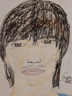 Kody Watts by Angela R. Watts! XD I drew a portrait; Kody's portrait! :) It was super fun (he laughed a lot, lol) and the new oil pastels I got are AMAZING to do! He was great to draw, I have not done a realistic portrait in a long time! :)