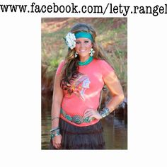 Indian Chief top from www.facebook.com/lety.rangel