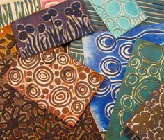 Ro Bruhn Art - foam stamps