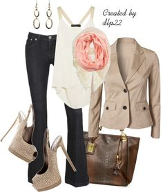 """""""Beige"""" by dlp22 on Polyvore"""
