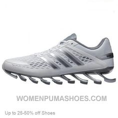 http://www.womenpumashoes.com/adidas-springblade-running-shoes-men-white-silver-online.html ADIDAS SPRINGBLADE RUNNING SHOES MEN WHITE SILVER ONLINE Only $68.00 , Free Shipping!