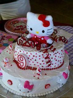 Mary's Hello Kitty cake