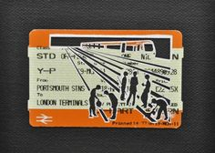 Please Mind The Gap: Delays Due To Engineering Works On The Line Cut Out Train tickets on canvas 2011 including frame Paper Engineering, Engineering Works, Gcse Art Sketchbook, Ticket Design, Train Tickets, A Level Art, Journey, Art Inspo, Paper Art