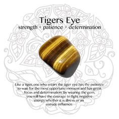 Tigers Eye Gemstone - Another!