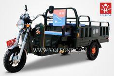 XIONGFENG 3 wheel motorized tricycle for cargo with closed cab for sale