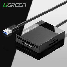 Ugreen alle in 1 usb 3.0 chipkartenleser flash-multi speicher Kartenleser USB für TF für SD für CF für MS Karte Adapter